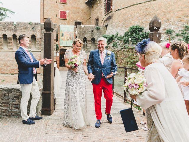 Il matrimonio di David e Kerri a Dozza, Bologna 105
