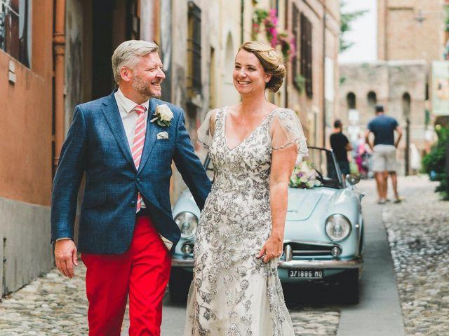 Il matrimonio di David e Kerri a Dozza, Bologna 109