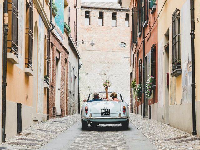 Il matrimonio di David e Kerri a Dozza, Bologna 114