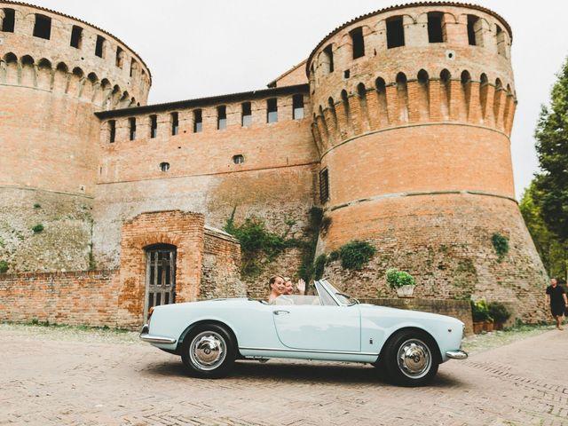 Il matrimonio di David e Kerri a Dozza, Bologna 115