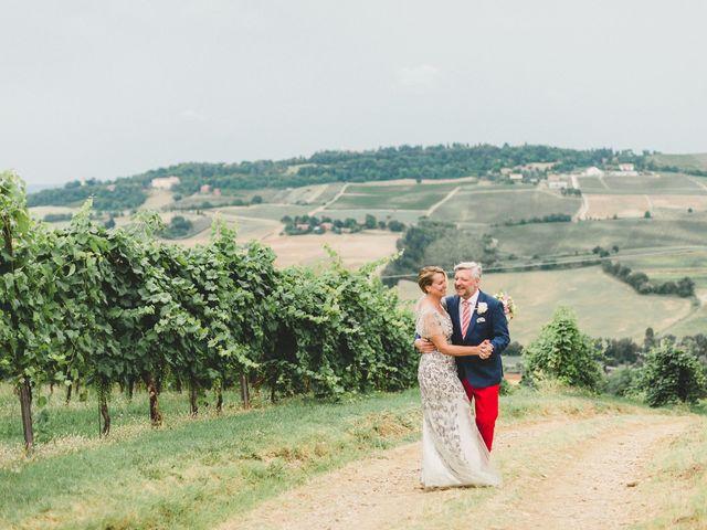 Il matrimonio di David e Kerri a Dozza, Bologna 2