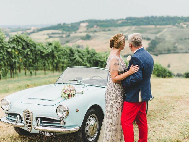 Il matrimonio di David e Kerri a Dozza, Bologna 127