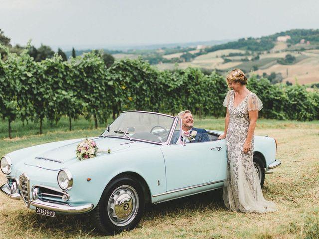 Il matrimonio di David e Kerri a Dozza, Bologna 128