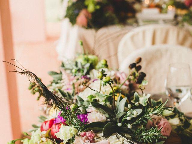Il matrimonio di David e Kerri a Dozza, Bologna 151