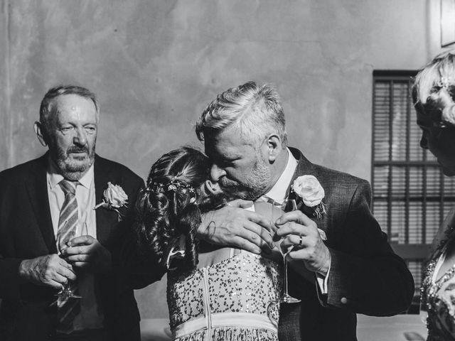 Il matrimonio di David e Kerri a Dozza, Bologna 209