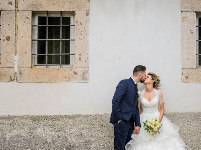 Il matrimonio di Stefano e Francesca a Canale Monterano, Roma 6