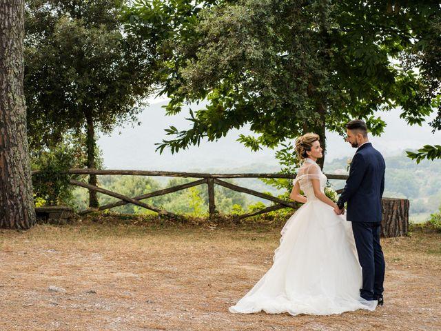 Il matrimonio di Stefano e Francesca a Canale Monterano, Roma 2