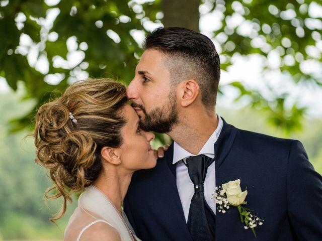 Il matrimonio di Stefano e Francesca a Canale Monterano, Roma 7
