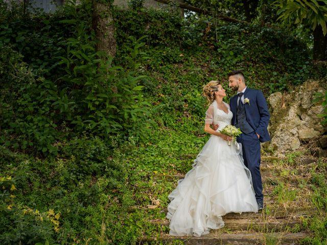 Il matrimonio di Stefano e Francesca a Canale Monterano, Roma 4
