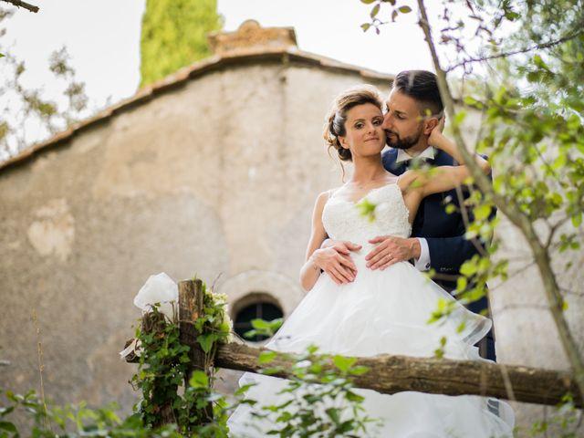 Il matrimonio di Stefano e Francesca a Canale Monterano, Roma 9