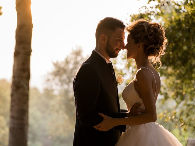 Il matrimonio di Stefano e Francesca a Canale Monterano, Roma 11