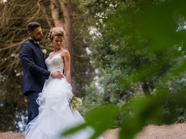Il matrimonio di Stefano e Francesca a Canale Monterano, Roma 12