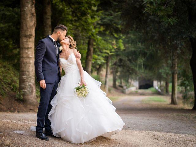 Il matrimonio di Stefano e Francesca a Canale Monterano, Roma 13