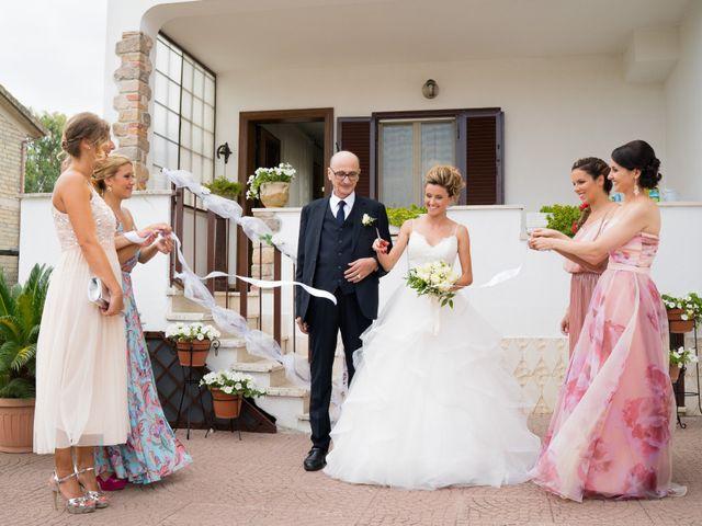 Il matrimonio di Stefano e Francesca a Canale Monterano, Roma 20