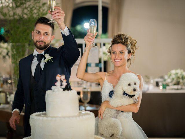 Il matrimonio di Stefano e Francesca a Canale Monterano, Roma 31