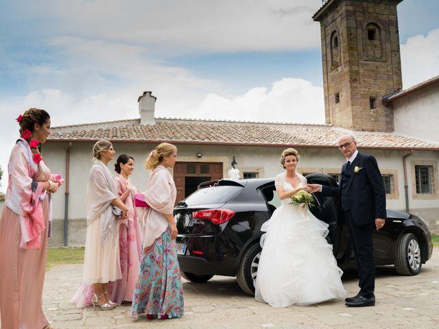 Il matrimonio di Stefano e Francesca a Canale Monterano, Roma 24