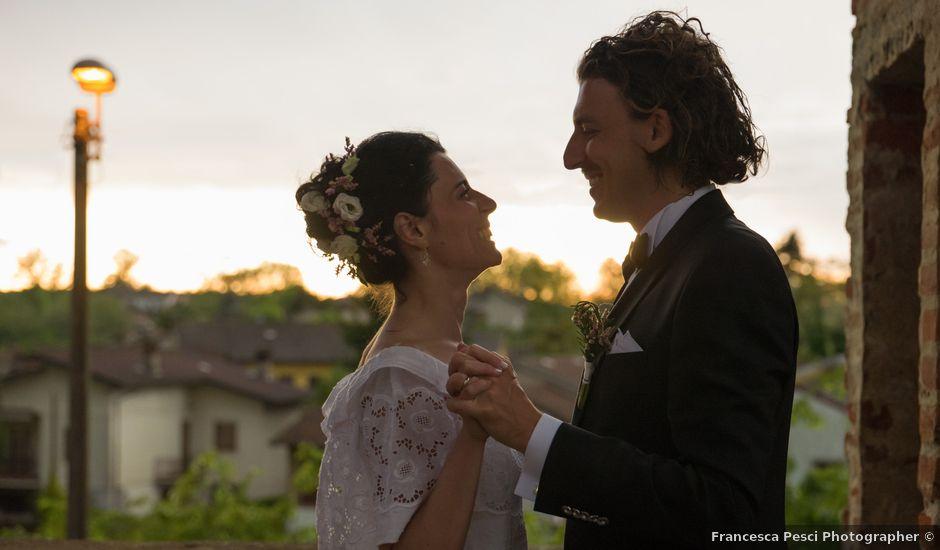 Il matrimonio di Matteo e Serena a Inverno e Monteleone, Pavia
