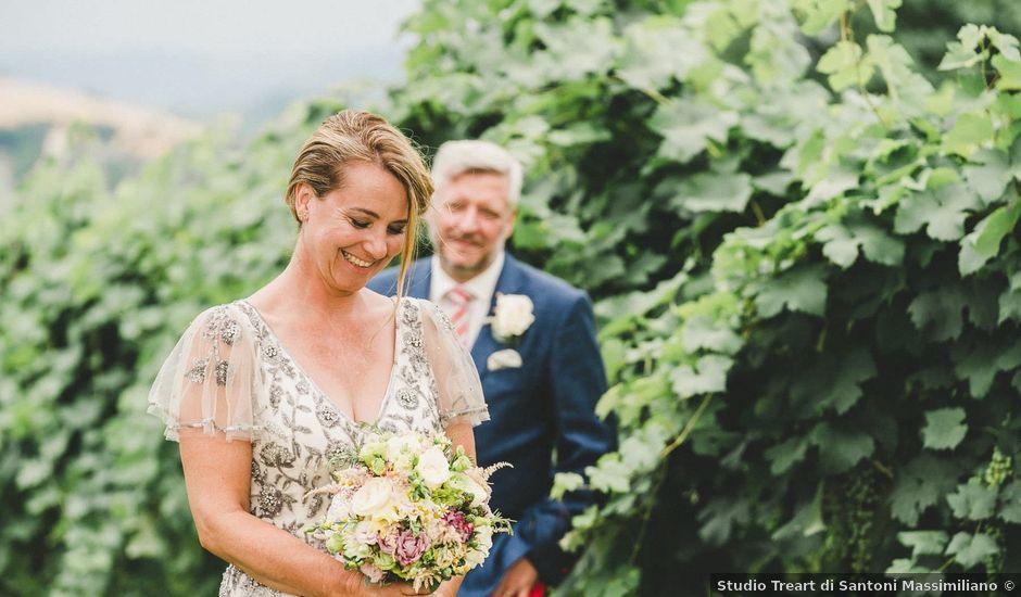 Il matrimonio di David e Kerri a Dozza, Bologna