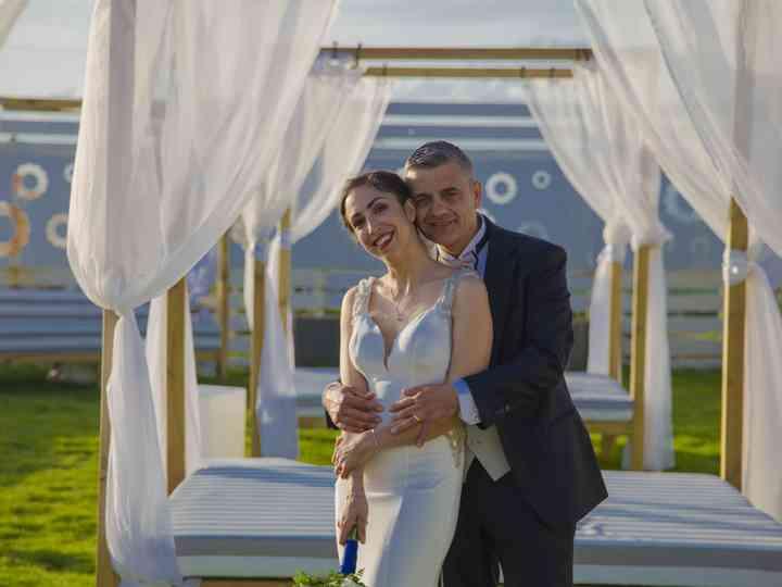 le nozze di Romina e Pietro