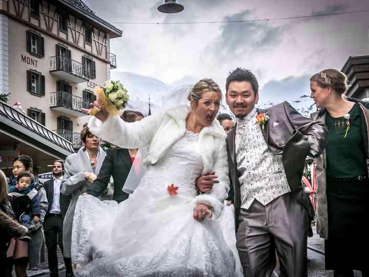 le nozze di Miriam e Chuchu
