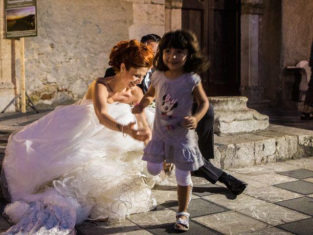 le nozze di Alessia e Lino
