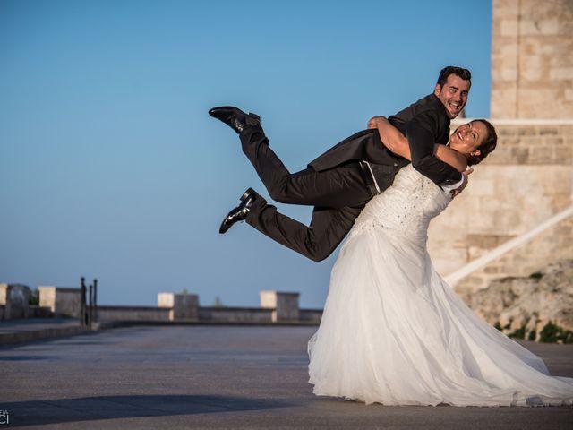 le nozze di Sandra e Dario