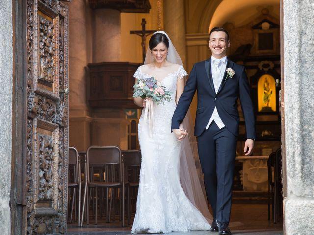 Il matrimonio di Luca e Marta a Inverigo, Como 37