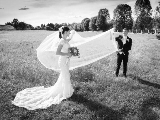 Il matrimonio di Luca e Marta a Inverigo, Como 43