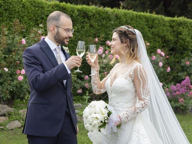 Il matrimonio di Olivia e Alessandro a Bracciano, Roma 11