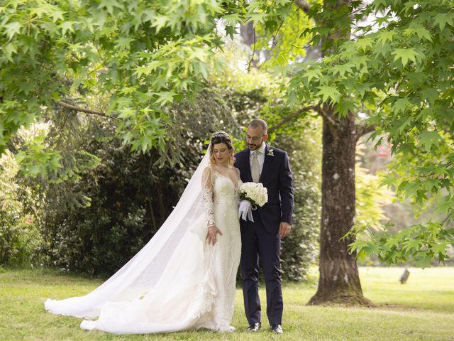 Il matrimonio di Olivia e Alessandro a Bracciano, Roma 38