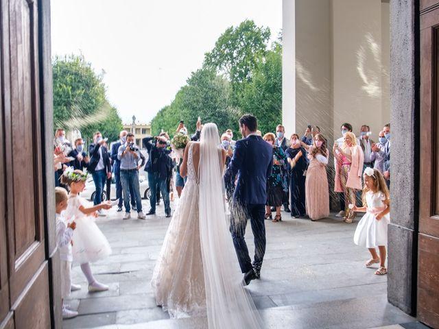 Il matrimonio di Fabio e Veronica a Calusco d'Adda, Bergamo 21