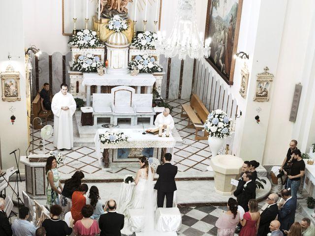 Il matrimonio di Alessio e Vanessa a Forza d'Agrò, Messina 18