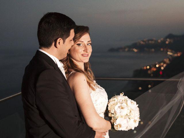 Il matrimonio di Alessio e Vanessa a Forza d'Agrò, Messina 33