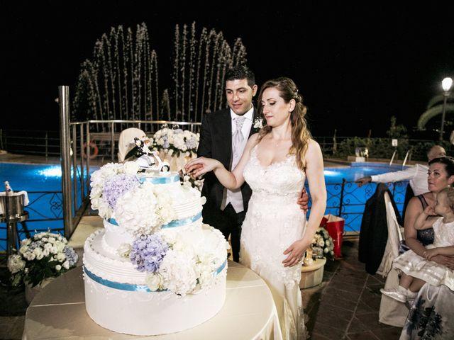 Il matrimonio di Alessio e Vanessa a Forza d'Agrò, Messina 43