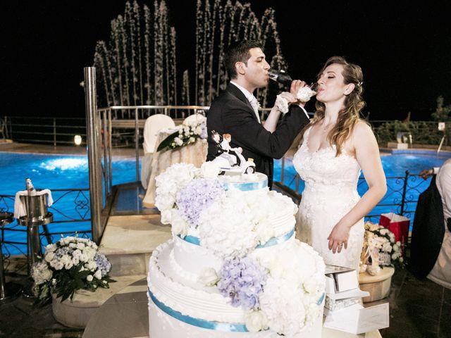 Il matrimonio di Alessio e Vanessa a Forza d'Agrò, Messina 44
