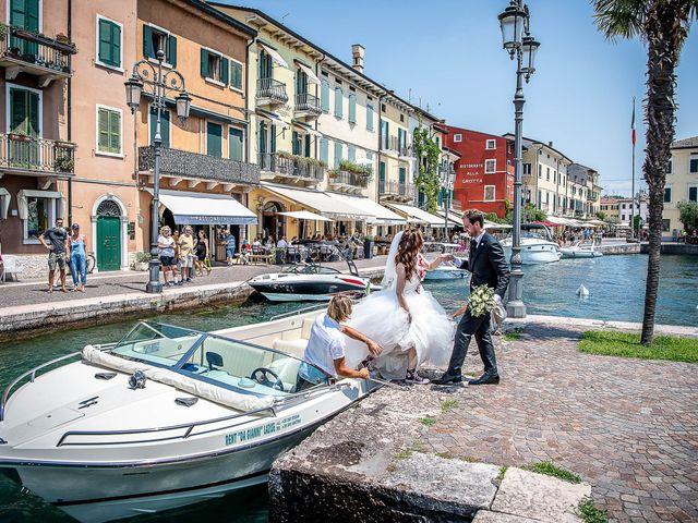 Il matrimonio di Luisella e Claudio a Lazise, Verona 28