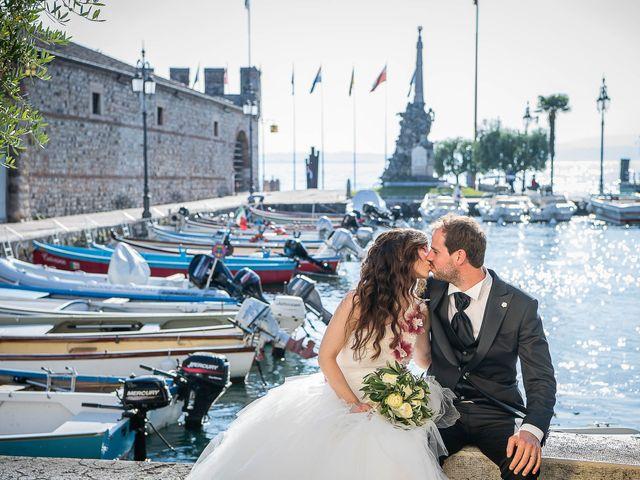 Il matrimonio di Luisella e Claudio a Lazise, Verona 37