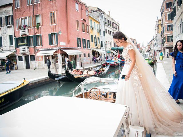 Il matrimonio di Filippo e Ksenia a Lido di Venezia, Venezia 7