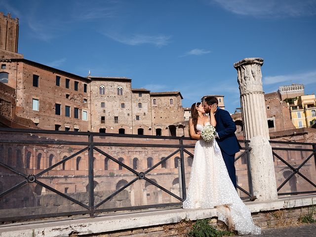 Il matrimonio di Alessia e Davide a Roma, Roma 35