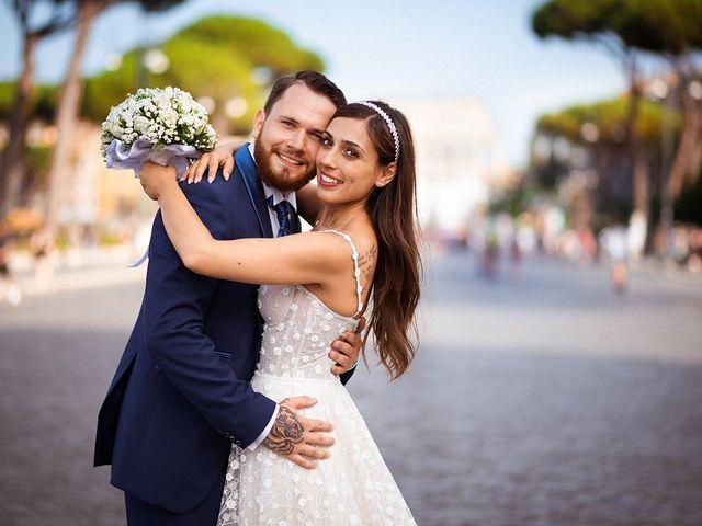 Il matrimonio di Alessia e Davide a Roma, Roma 40