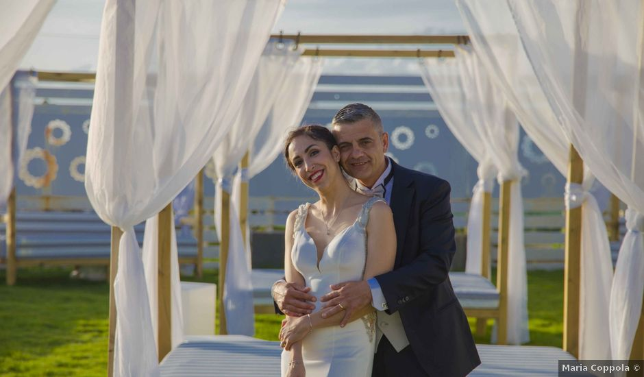 Il matrimonio di Pietro e Romina a Monte di Procida, Napoli