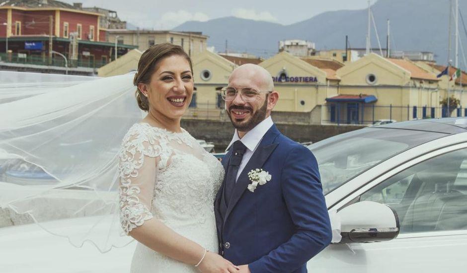 Il matrimonio di Vincenzo  e Pina a Cesa, Caserta