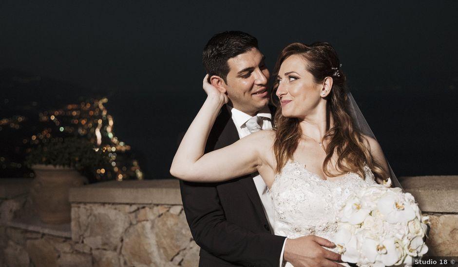 Il matrimonio di Alessio e Vanessa a Forza d'Agrò, Messina