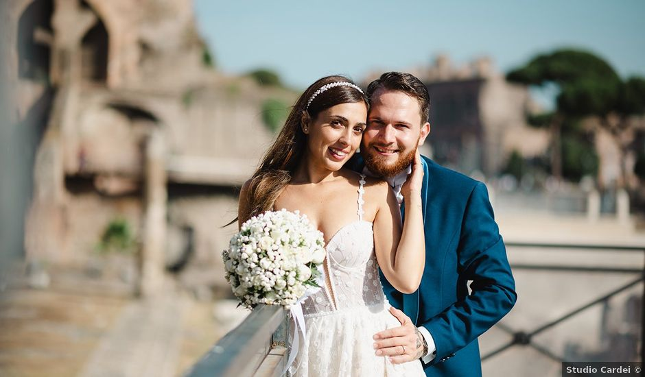 Il matrimonio di Alessia e Davide a Roma, Roma