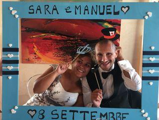 Le nozze di Manuel e Sara