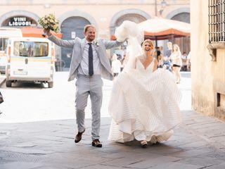 Le nozze di Kara e Alex