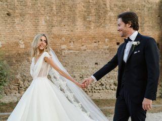 Le nozze di Helena e Cristiano