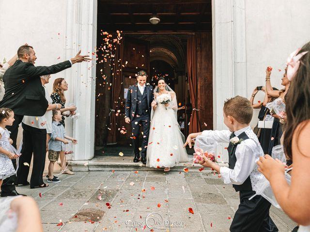Il matrimonio di Simone e Lisa a Martellago, Venezia 103