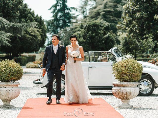 Il matrimonio di Simone e Lisa a Martellago, Venezia 114