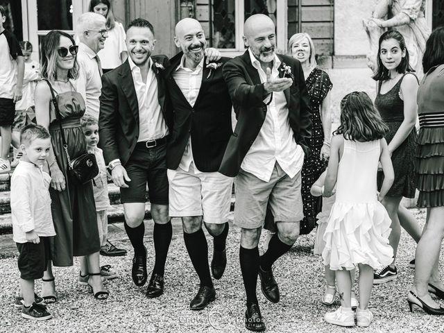 Il matrimonio di Simone e Lisa a Martellago, Venezia 147